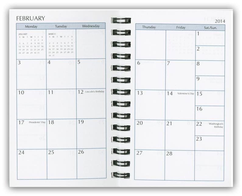 2015 day planner refills  calendar refill pages  organizer